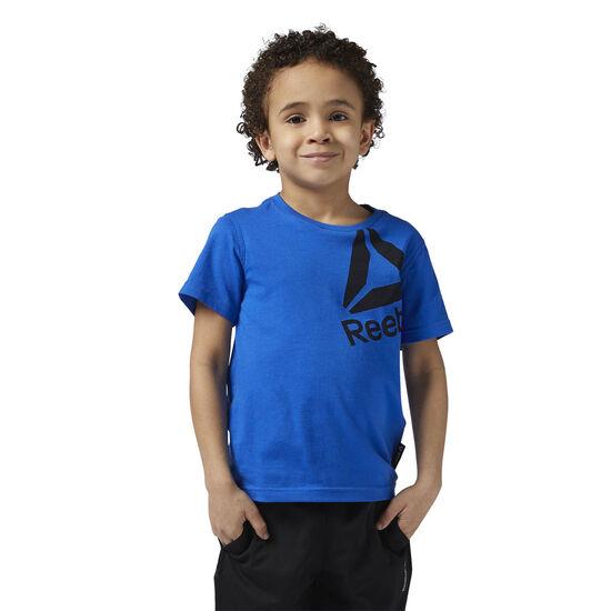 Reebok - Boys Essentials Tee Vital Blue BS1396