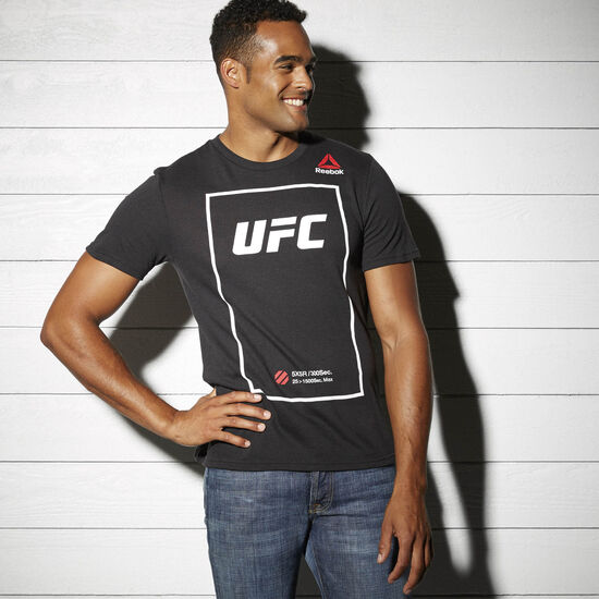 Reebok - UFC Fan Short Sleeve Triblend Tee Black AY5226