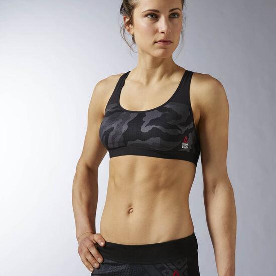 Reebok - Women's Reebok CrossFit Proud Chest II Bra Black AX9735