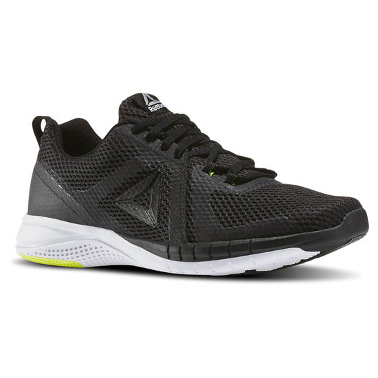 Reebok - Reebok Print Run 2.0 Black/White/Solar Yellow/Pewter BS5254