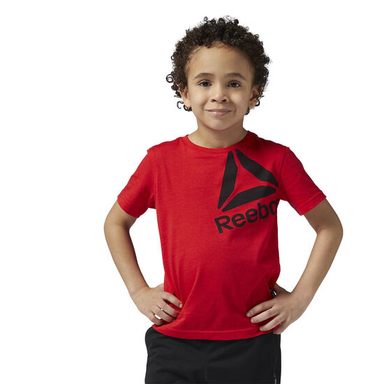 Reebok - Boys Essentials Tee Primal Red BS1408