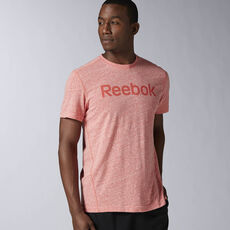 Reebok - Elements Big Logo Tee Riot Red AY1590