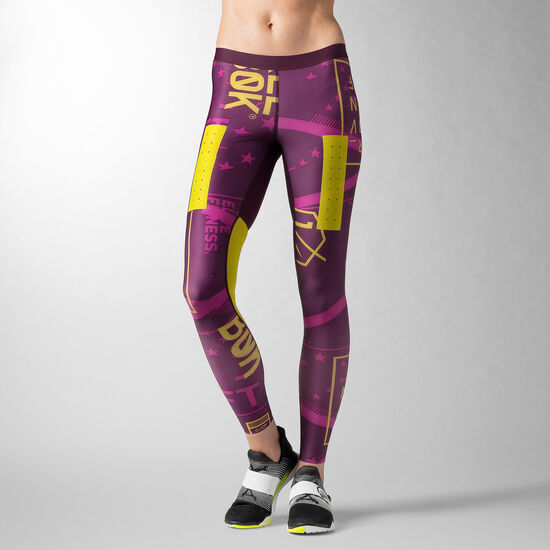 Reebok - Reebok CrossFit PWR5 Compression Tight Royal Orchid AA1116