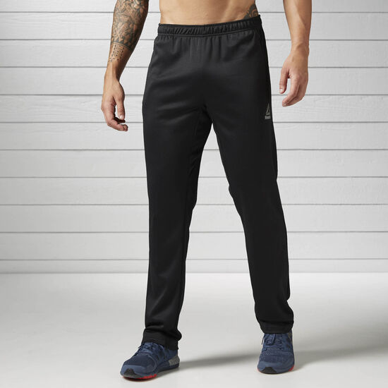 Reebok - Workout Ready Elitage Group Mélange Open Hem Pant Black BK3316