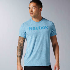 Reebok - Elements Big Logo Tee Instinct Blue AY1587