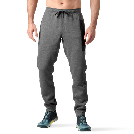 Reebok - Quik Cotton Jogger Dark Grey Heather B45121
