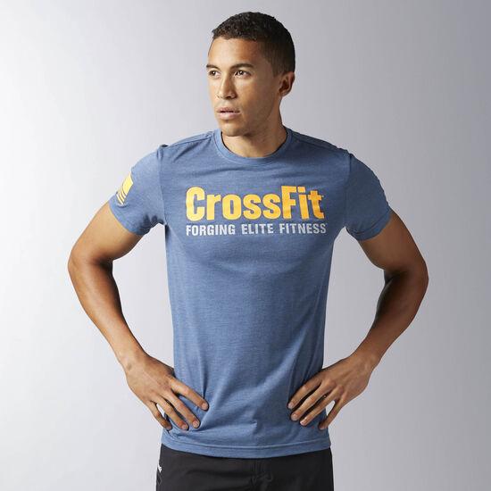 Reebok - Спортивная футболка Reebok CrossFit Forging Elite Fitness BRAVE BLUE BJ9346