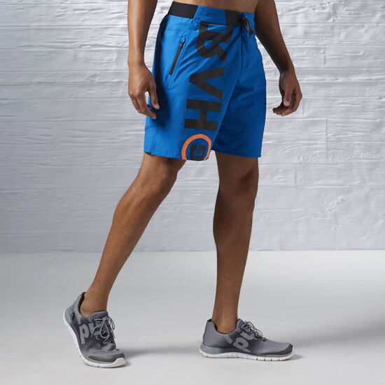 Reebok - ONE Series Power Nasty Lightweight Short Blue Sport AJ0852