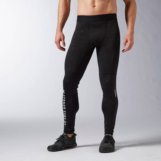Reebok - Reebok ONE Series Speedwick Thermal Tight Black AX9479