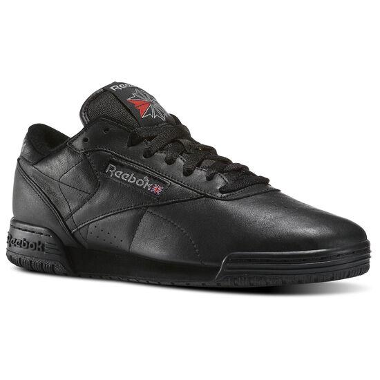 Reebok - Exofit Lo Clean Vintage Black/Carbon/Classic Red BD3381
