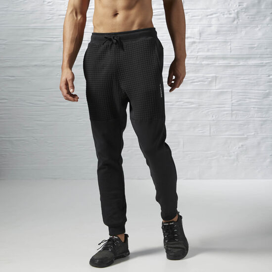 Reebok - Elements Quilted Cuff Pant Black AY1885