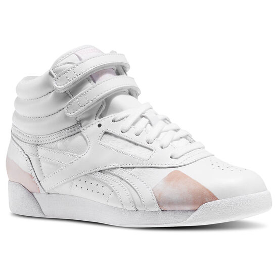 Reebok - Reebok x FACE Stockholm Freestyle Hi Spirit White V63195