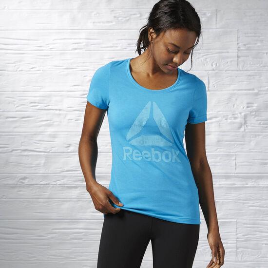 Reebok - Workout Ready Supremium Tee Wild Blue AY3472