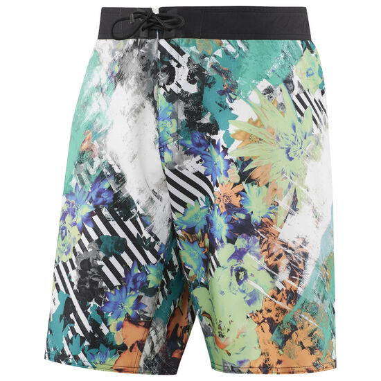 Reebok - Reebok CrossFit Super Nasty Floral Board Short Kiwi Green B45152