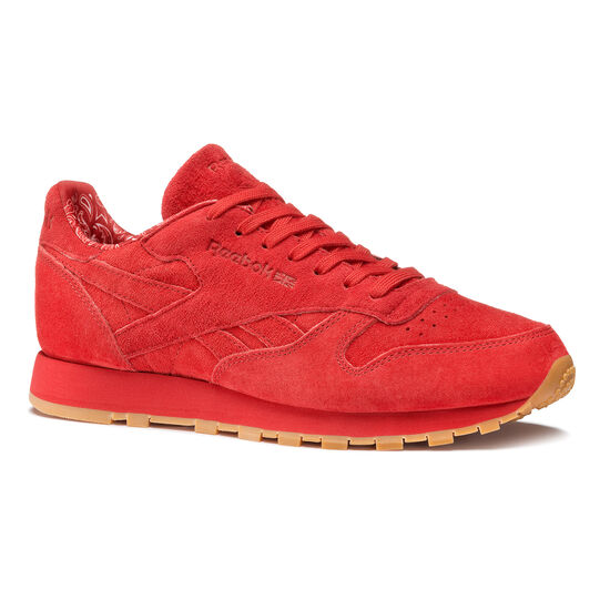 Reebok - Classic Leather Paisley Pack Scarlet/White-Gum BD3231