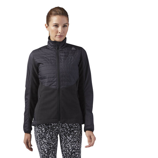Reebok - Outdoor Combed Fleece Jacket Black BR0520