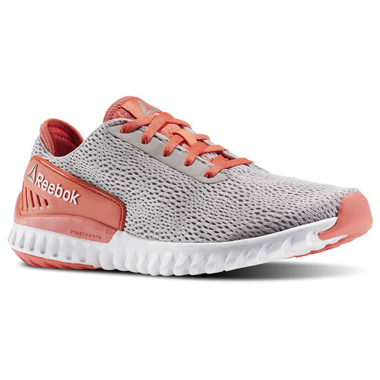 Reebok - Zapatillas de Running Twistform 3.0 WHISPER GREY/FIRE CORAL/WHITE/PEWTER BD4588