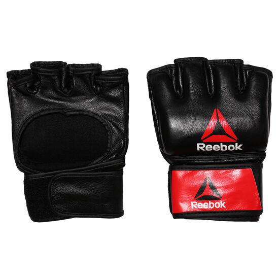 Reebok - Combat Leather MMA Glove - Large Black/Red BH7250