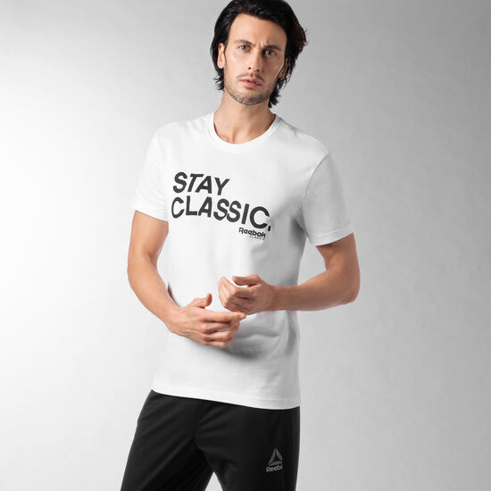 Reebok - Foundations Stay Classic Tee White AO0263