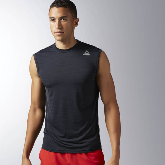 Reebok - Men's Workout Ready ACTIVCHILL Tank Black BS1428