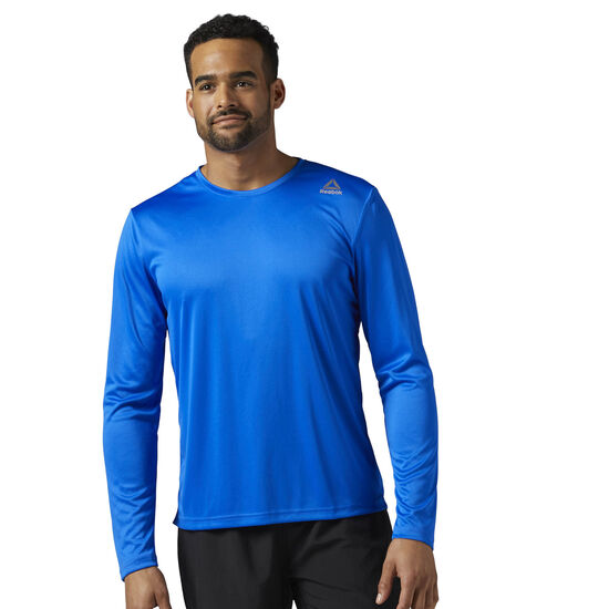 Reebok - Running Long Sleeve Shirt Vital Blue BR4462