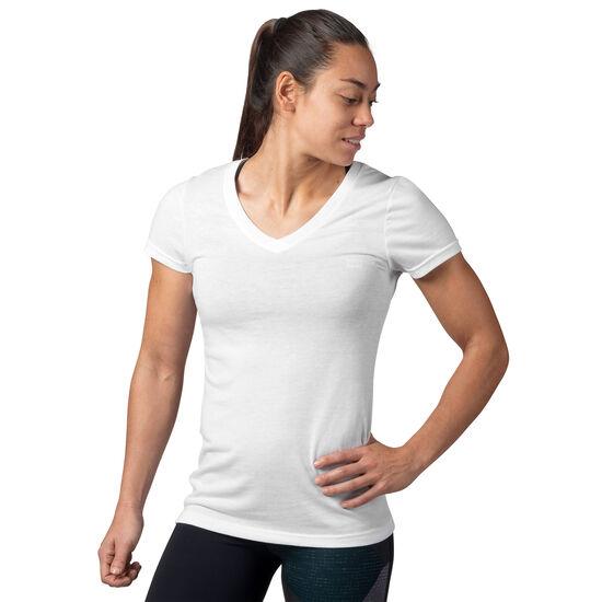 Reebok - Reebok V-Neck T-Shirt White AJ8011