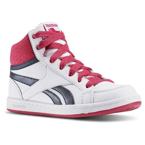 Reebok - Reebok Royal Prime Mid White/Pink Craze/Navy BD2402