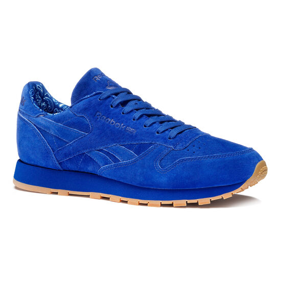 Reebok - Classic Leather Paisley Pack Collegiate Royal/White BD3233