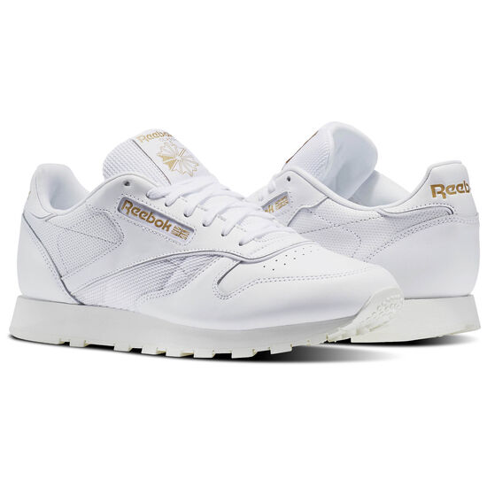 Reebok - Classic Leather ALR White/Chalk/Snowy Grey/Rbk Brass BS5241