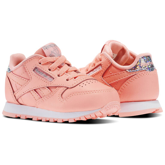 Reebok - Classic Leather Pastel - Infant & Toddler Sour Melon/White BS8983