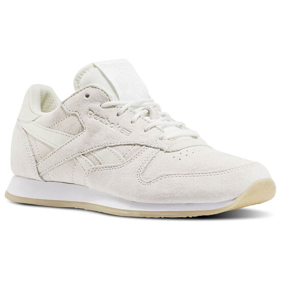 Reebok - Classic Leather Crepe Sail Away Chalk/White/Collegiate Navy/Fire Coral BD3017