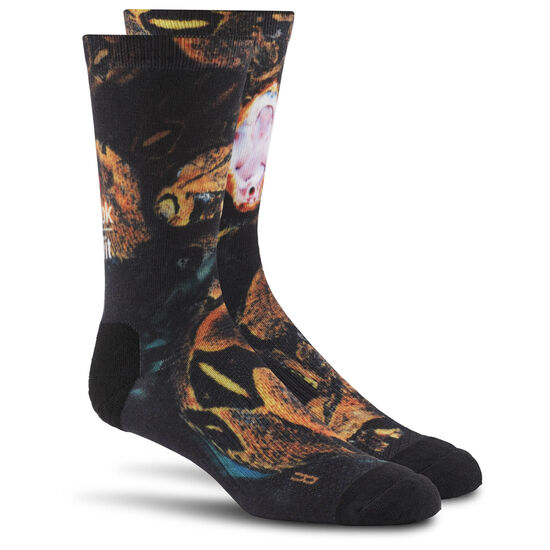 Reebok - Reebok CrossFit Wildlife II Crew Sock Black BP9129