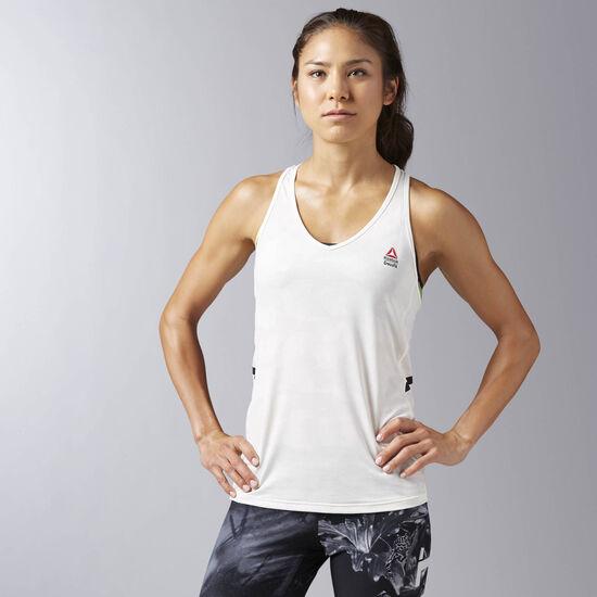 Reebok - Femmes Débardeur Reebok CrossFit Proven Chalk BJ9828