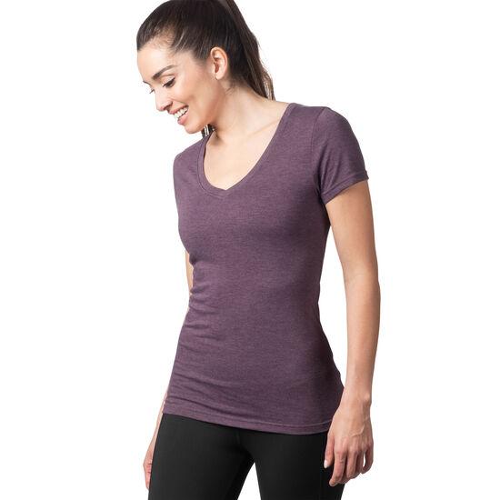 Reebok - T-shirt col V Reebok Training personalised Pacific Purple BQ2421
