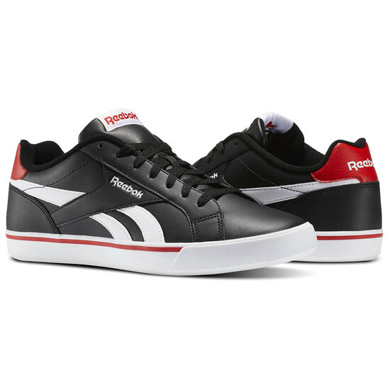 Reebok - Reebok Royal Complete 2LL Black/White/Riot Red AR2427