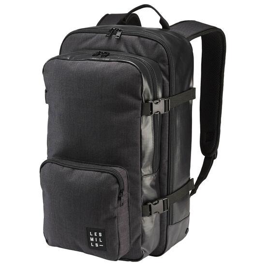 Reebok - LES MILLS Unisex Backpack Black AZ0093