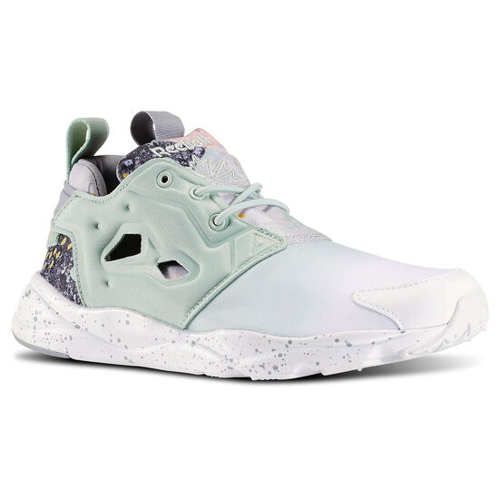 Reebok - Furylite Contemporary Sage Mist/White/Tin Grey V69636