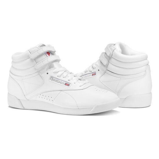 Reebok - Freestyle Hi Int-White/Silver 2431
