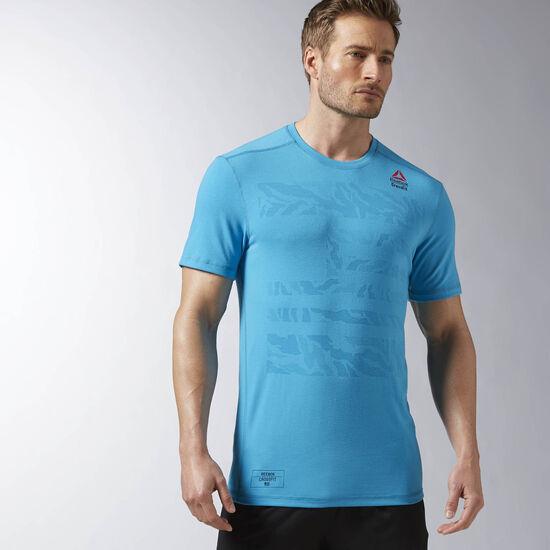 Reebok - Reebok CrossFit Burnout Tee Wild Blue AX8851