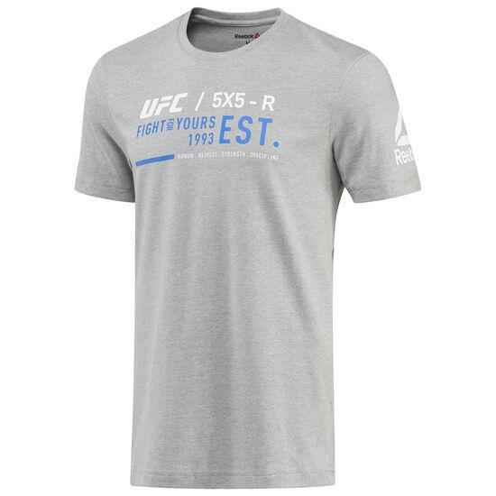 Reebok - UFC Ultimate Fan Graphic Tee Medium Grey Heather BQ2950