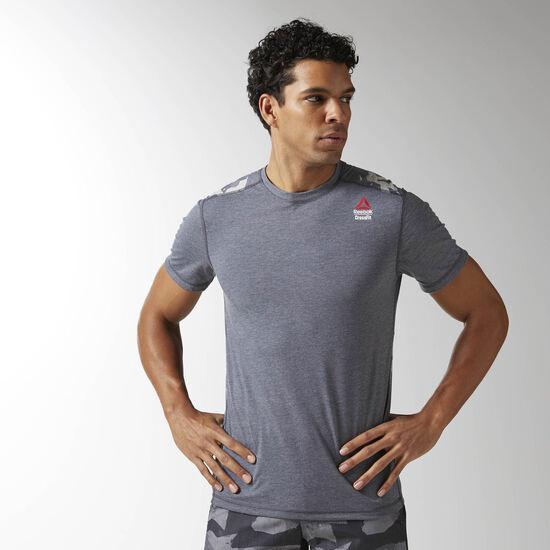 T shirt burnout reebok crossfit for Reebok crossfit t shirts