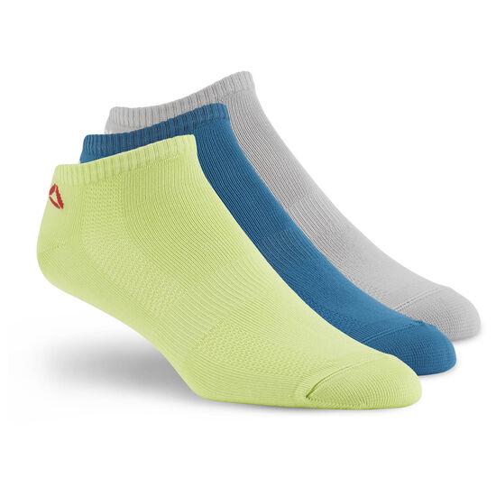 Reebok - Men's Reebok ONE Series Socks - 3 pack Emetid/Kiwgrn/Mgsogr BP6238