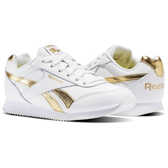 Reebok - Reebok Royal Classic Jogger 2.0 White/Gold Met BS8010