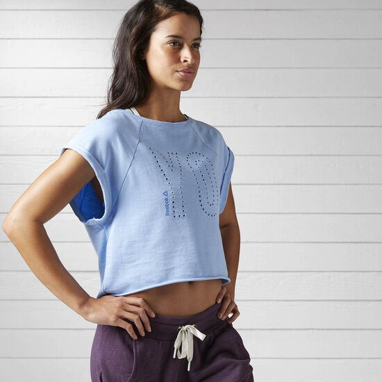 Reebok - Women's Yoga French Terry Tee Galaxy BJ9760