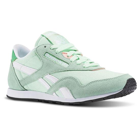 Reebok - Classic Nylon Slim HV Mint Green/Bottle Green/White/Stllar Pink/Black BD1781