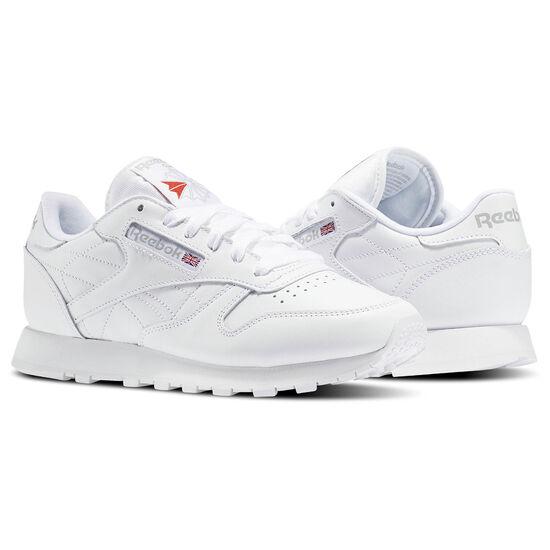 Reebok - Femmes Classic Leather Us-white 835