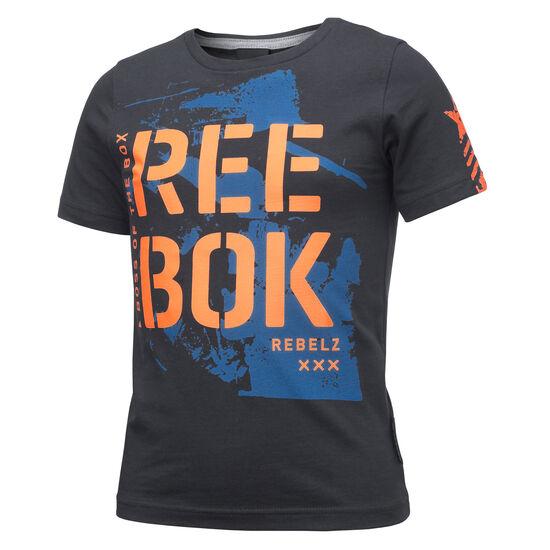Reebok - Boys Rebels Kids Basic Tee Lead BK3641
