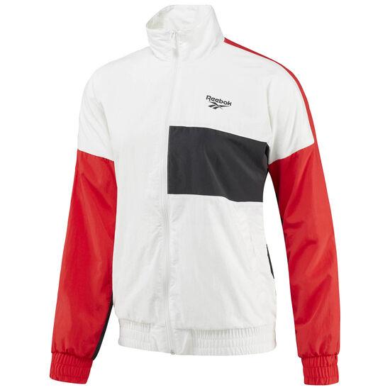 Reebok - Reebok Classics Logo Jacket White/Primal Red CE2671