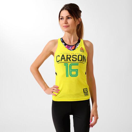 Reebok - Débardeur Reebok CrossFit Authentic Carson Hero Yellow F16-R S97469