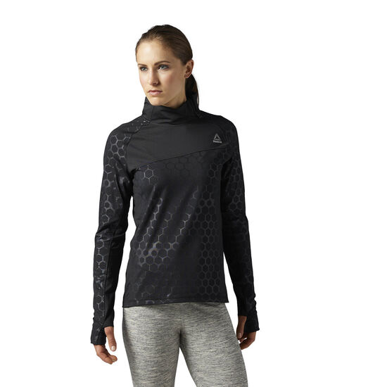 Reebok - HEXAWARM 1/4 Zip Top Black BS1795